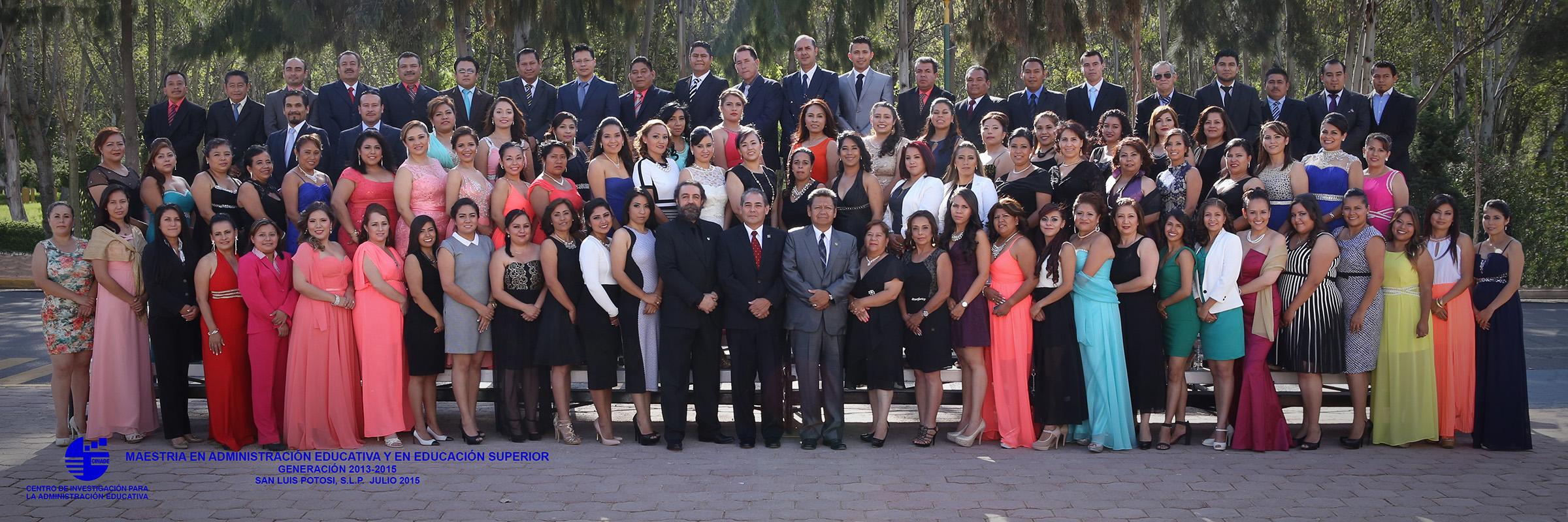 Generación 2013-2015 (Maestrías)